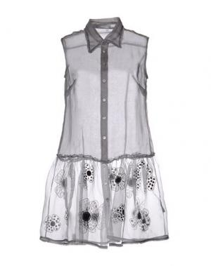 Pубашка JUPE BY JACKIE. Цвет: серый