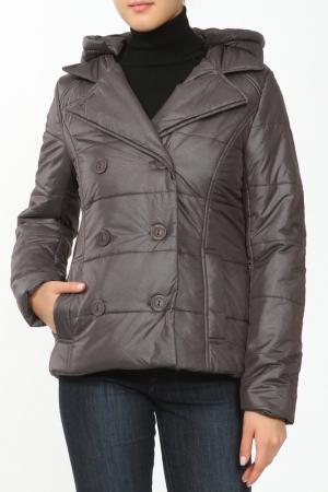 Куртка French Fries. Цвет: коричневый