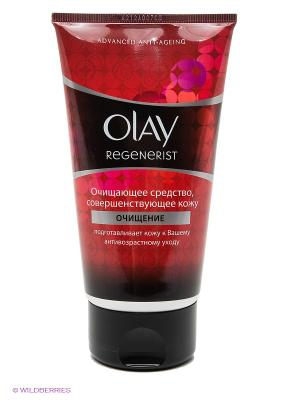 Очищающее средство совершенствующее кожу, Regenerist OLAY. Цвет: красный
