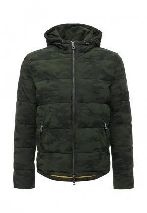 Куртка утепленная Marciano Guess. Цвет: хаки