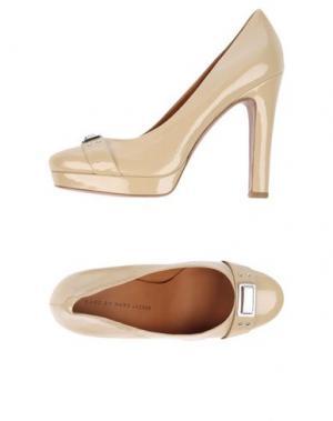 Туфли MARC BY JACOBS. Цвет: бежевый