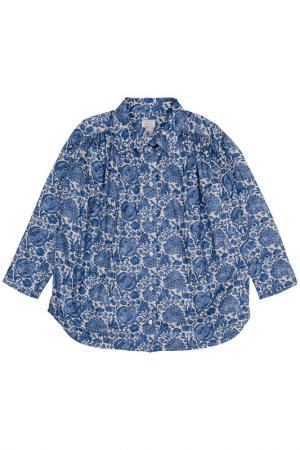 Блузка MORLEY. Цвет: синий