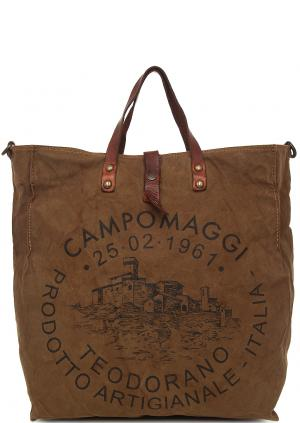 Сумка Campomaggi. Цвет: коричневый