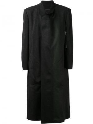 Длинное пальто Siki Im. Цвет: чёрный