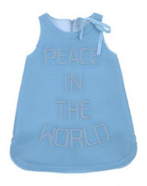 Платье MIMISOL. Цвет: грифельно-синий