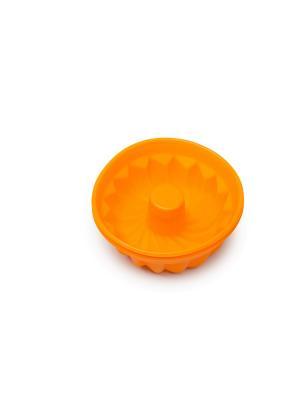 Набор форм для выпечки OURSSON. Цвет: темно-бордовый, красный, оранжевый