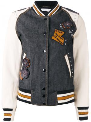Спортивная куртка Coach. Цвет: серый