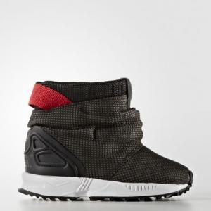 Сапоги ZX Flux  Originals adidas. Цвет: черный
