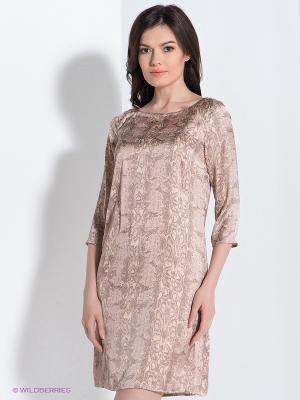 Платье Viaggio. Цвет: светло-бежевый