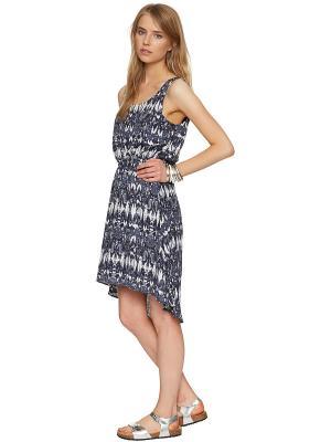 Платье TOM TAILOR. Цвет: темно-синий