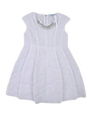 Платье MIMISOL. Цвет: белый