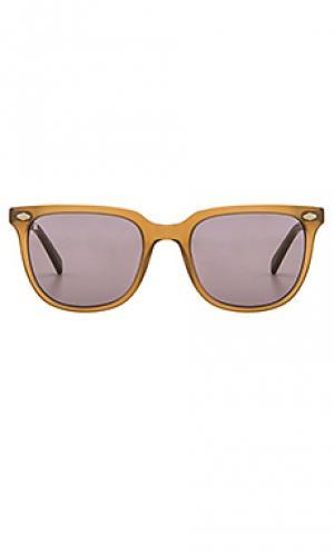 Солнцезащитные очки arlo RAEN. Цвет: коричневый