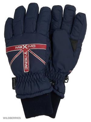Перчатки MAXIMO. Цвет: красный, синий