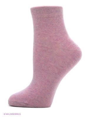 Носки женские теплые Burlesco. Цвет: розовый