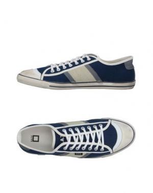 Низкие кеды и кроссовки D.A.T.E.. Цвет: синий