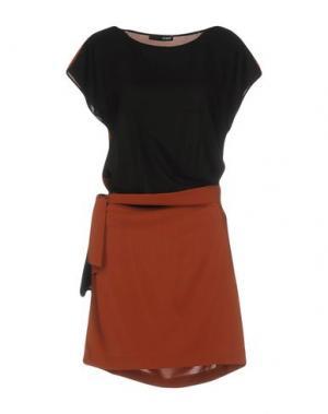 Короткое платье .TESSA. Цвет: коричневый