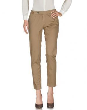 Повседневные брюки ANOTHER LABEL. Цвет: песочный