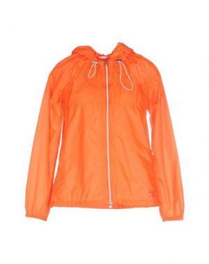 Куртка 313 TRE UNO. Цвет: оранжевый