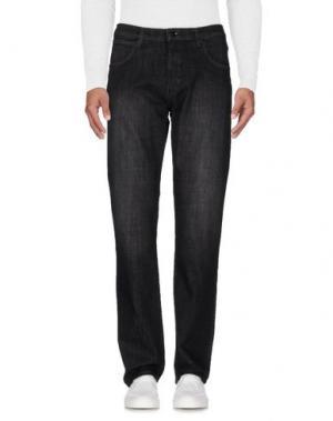 Джинсовые брюки WRANGLER. Цвет: черный