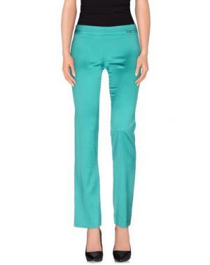 Повседневные брюки MISS MONEY. Цвет: зеленый