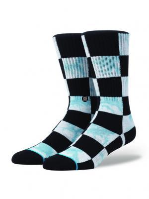 Носки SIDE STEP CAESAR (SS16) Stance. Цвет: черный, светло-голубой