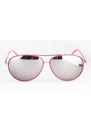 Солнцезащитные очки Lounge. Цвет: розовый
