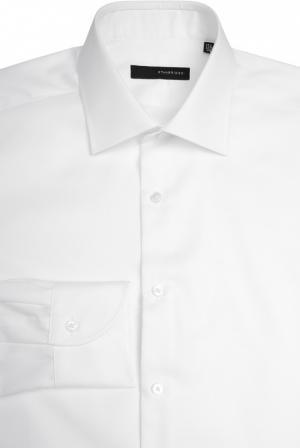 Сорочка свободного фасона с воротником кент Stanbridge. Цвет: белый