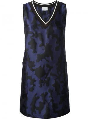 Платье Whirlpool Vimba Zoe Jordan. Цвет: синий
