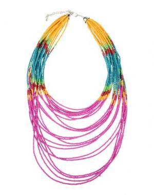 Ожерелье DETTAGLI. Цвет: фуксия