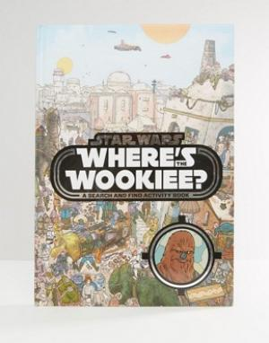 Books Книга Star Wars Wheres Wookiee. Цвет: мульти