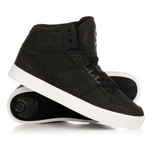 Кеды кроссовки высокие  Nyc 83 Vulc Black Osiris. Цвет: черный