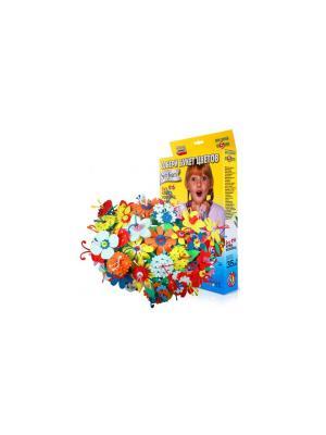 Игрушка для творчества букет цветов(кор.9 цв.) БОМИК. Цвет: синий, голубой, светло-зеленый