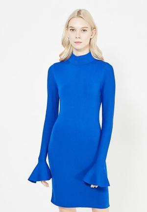 Платье Michael Kors. Цвет: синий