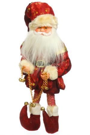 Эльф Санта музыкальный, 32 см Davana. Цвет: красный