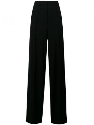 Широкие брюки Mulanas By Malene Birger. Цвет: чёрный