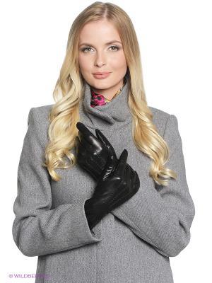 Перчатки Fabretti. Цвет: антрацитовый, темно-серый, черный