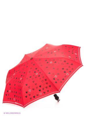 Зонт MOSCHINO. Цвет: красный, белый, черный
