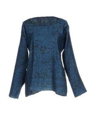 Блузка DOSA. Цвет: синий