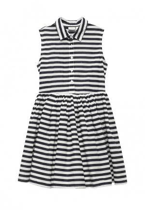 Платье Name It. Цвет: черно-белый