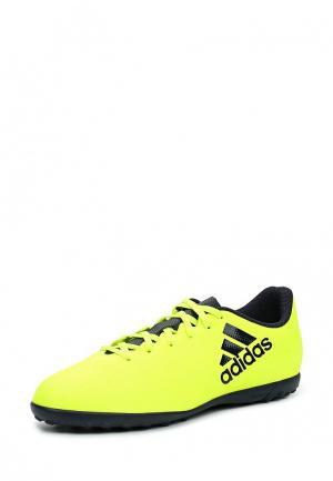 Шиповки adidas Performance. Цвет: желтый