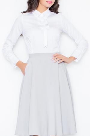 Блуза Figl. Цвет: белый