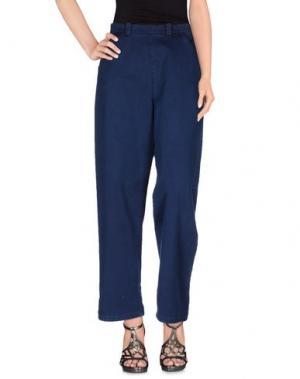 Джинсовые брюки BLUE JAPAN. Цвет: синий