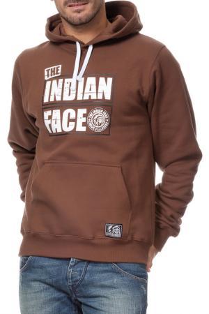 Толстовка THE INDIAN FACE. Цвет: коричневый