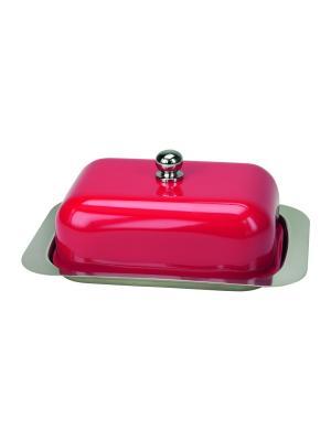 Маслёнка Betty Contento. Цвет: красный