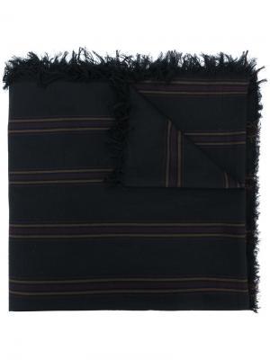 Полосатый шарф Uma Wang. Цвет: многоцветный
