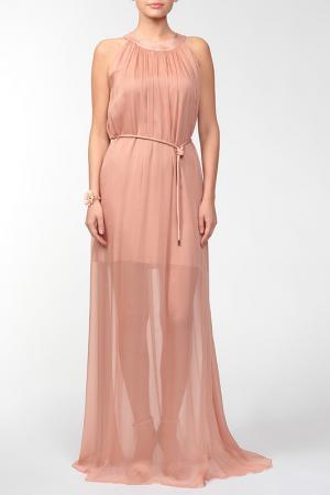 Платье Burani. Цвет: пудровый