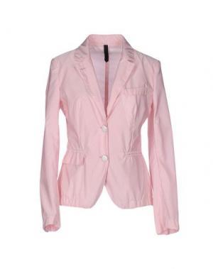 Пиджак AQUASCUTUM. Цвет: розовый