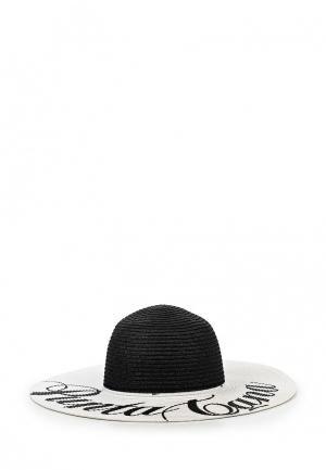 Шляпа Fabretti. Цвет: черно-белый