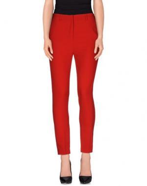 Повседневные брюки AMERICAN RETRO. Цвет: красный