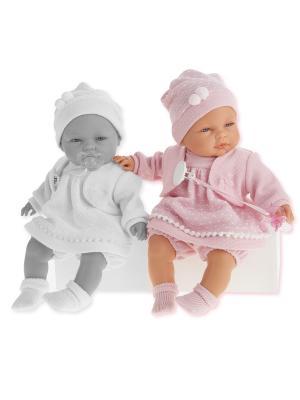 Кукла Соня, плачущая, 37 см. Antonio Juan. Цвет: розовый